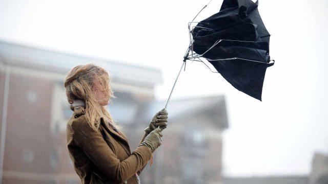 порывистый ветер