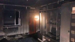 В Могилевском районе 15-летняя девочка получила ожоги, пытаясь потушить пожар