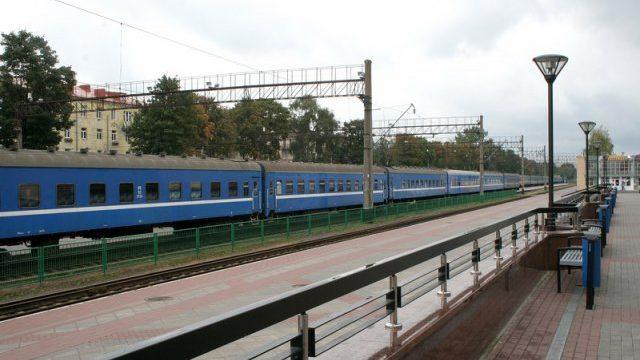 поезд Минск-Гродно