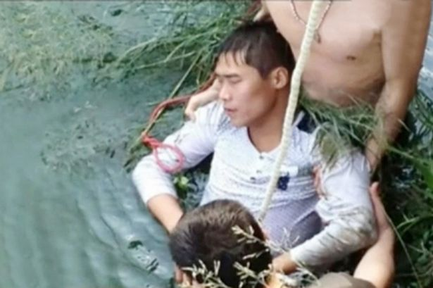 После встречи с некрасивой невестой жених решил утопится в реке