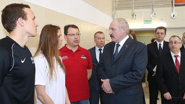 Лукашенко про спорт