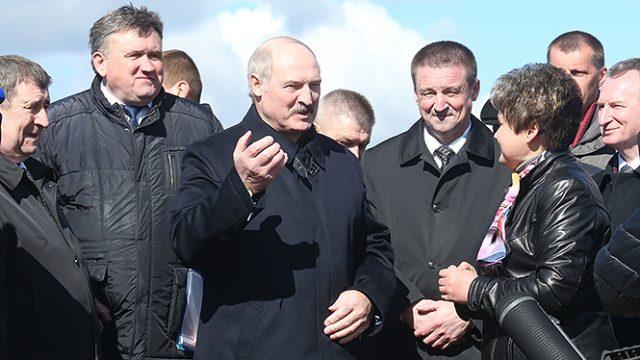 Лукашенко про село