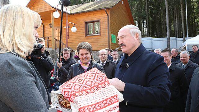 Лукашенко про кухню