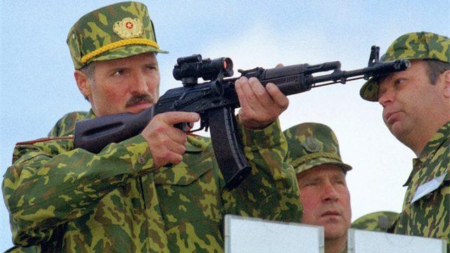 Лукашенко про армию