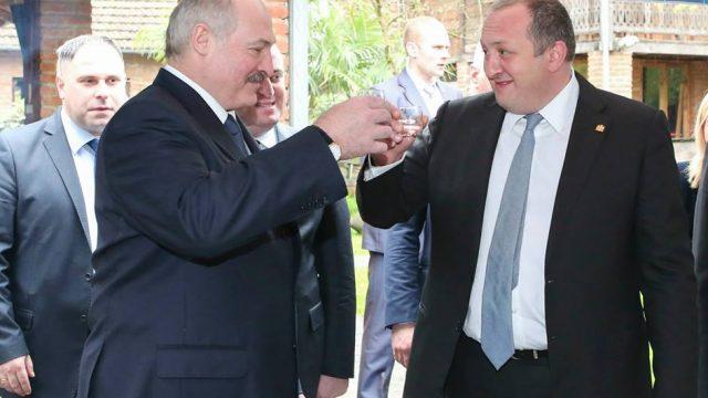 Переговоры Лукашенко иМаргвелашвили пройдут вМинске 1марта