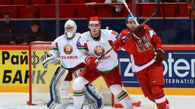 Белорусские хоккеисты