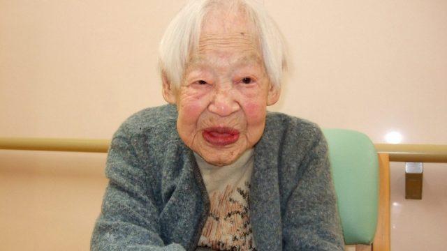 скончалась самая старая женщина в мире