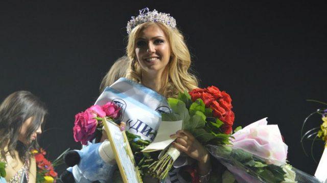 победительница Мисс Динамо-Минск