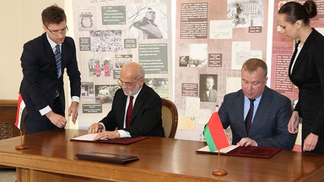 иракская делегация в Беларуси