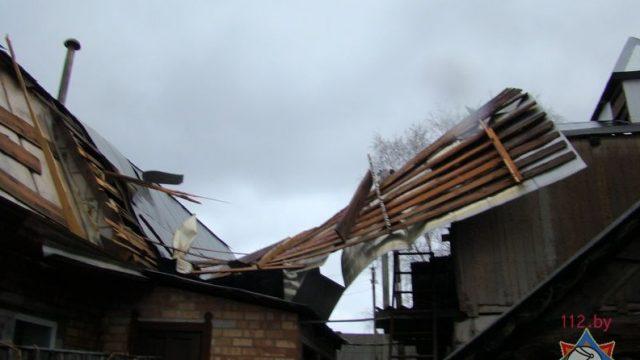 ветер сорвал крышу
