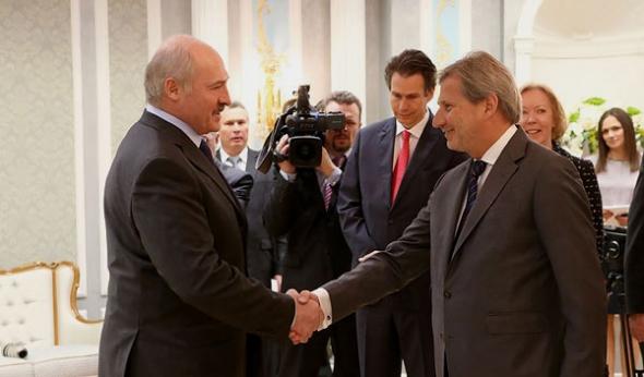 Лукашенко и Йоханнес Хан