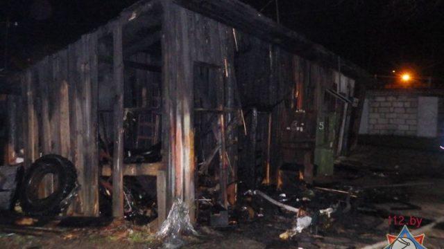 Пожар в Могилеве