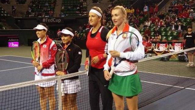 Женская сборная Беларуси по теннису вышла во вторую мировую группу
