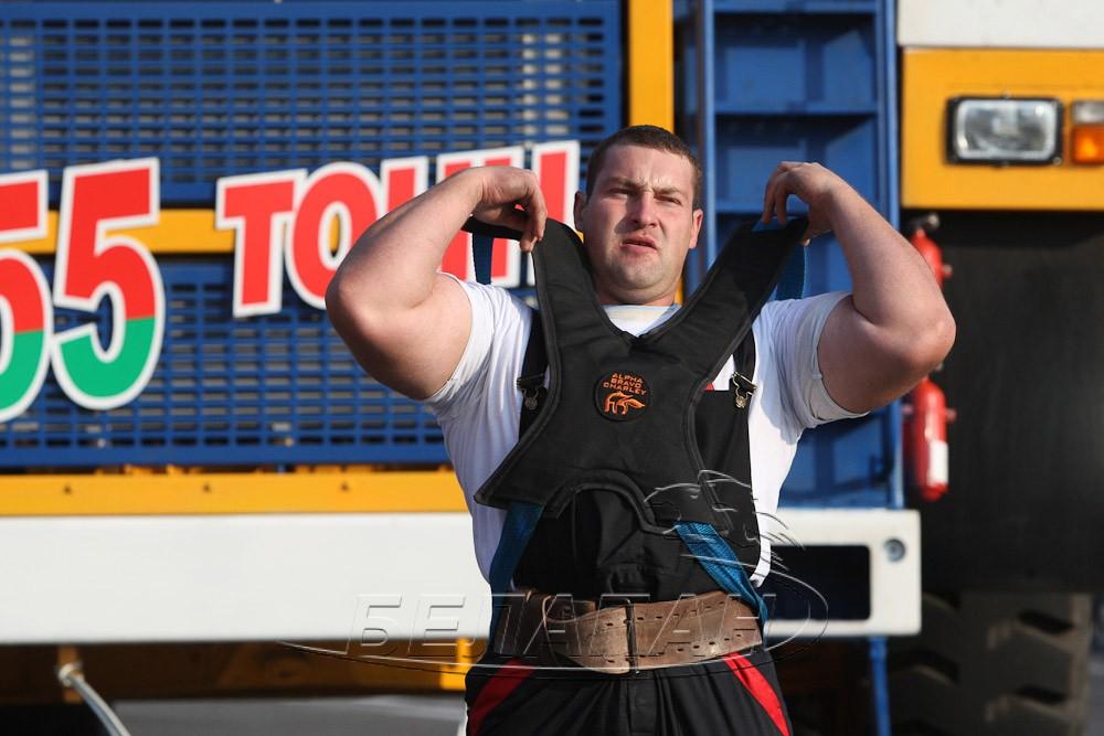 Белорусский силач установил новый рекорд Гиннеса