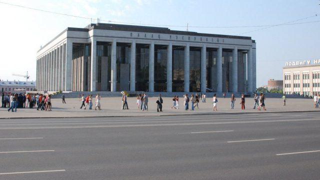 Площадь в Минске