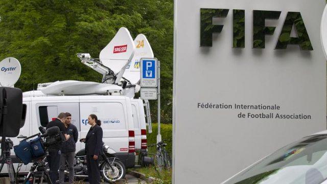 пресс-конференция директора FIFA