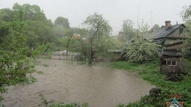 подтопления в Гродно