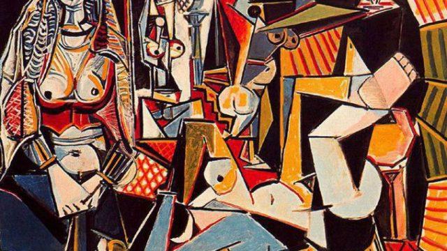 """Пабло Пикассо """"Алжирские женщины"""""""