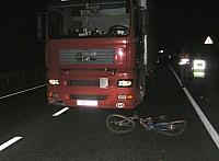 Смертельное ДТП на автодороге Гомель-Минск фура наехала на велосипедистку