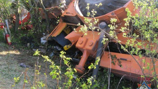 Инцидент с трактором