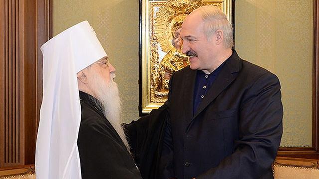 Состоялась встреча Александра Лукашенко с митрополитом Филаретом