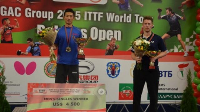 Завершён открытый чемпионат Беларуси по настольному теннису
