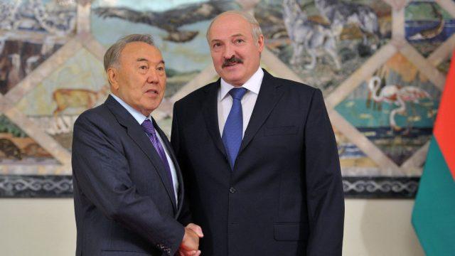 Награждение Назарбаева