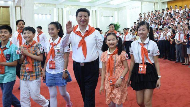 День пионеров в Китае