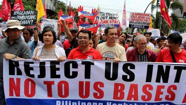 акция протеста на Филиппинах