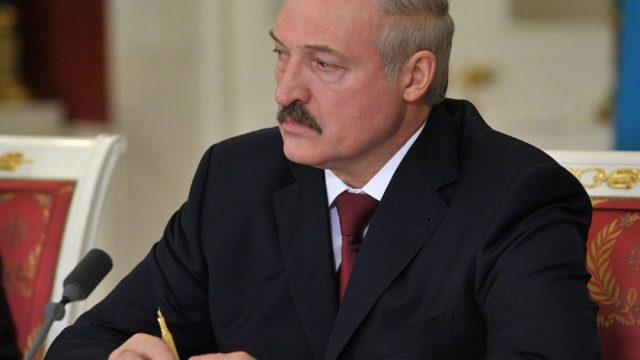 Лукашенко - кадры