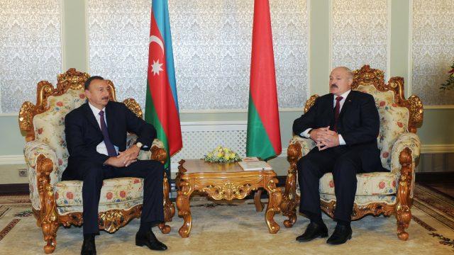 Лукашенко в Баку