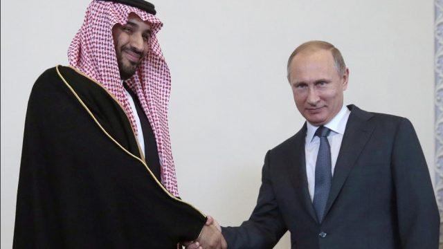 Путин и Мохаммед бин Салман
