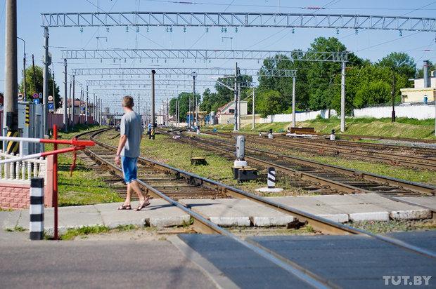 Самоубийство в центре Гомеля- мужчина бросился под поезд