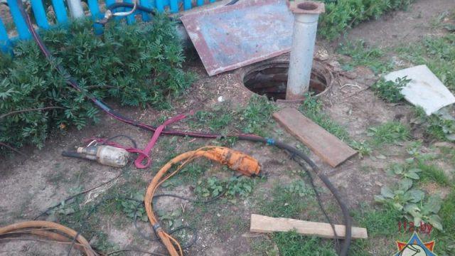 В Гомельском районе вспыхнул болотный газ - один мужчина получил серьезные ожоги