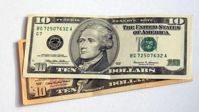 10 (десять) долларов