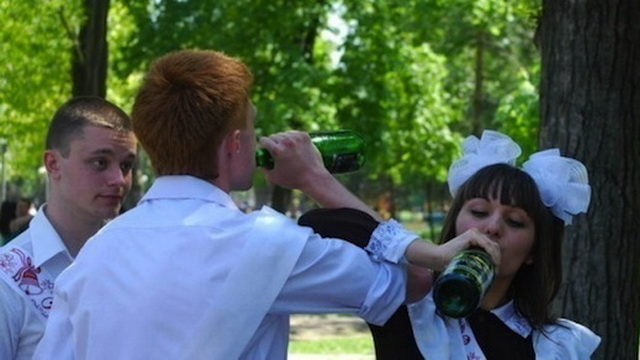 В Минской области во время выпускных вечеров выявлены факты продажи алкоголя