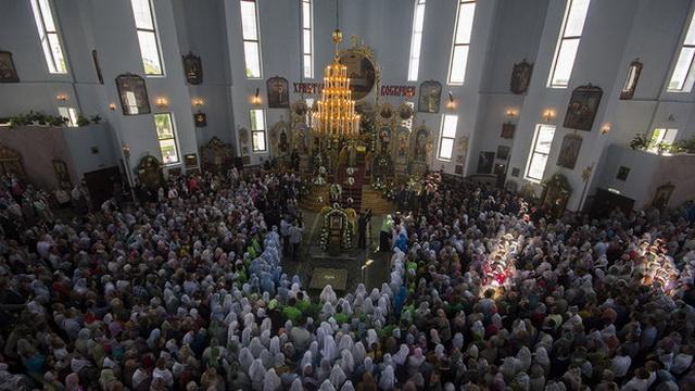 Патриарх Кирилл провёл литургию в Бресте