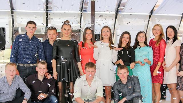 Дарью Домрачеву отметили за победу в зачёте Кубка мира по биатлону