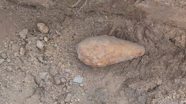 В Гомеле на детской площадке нашли снаряд времен ВОВ