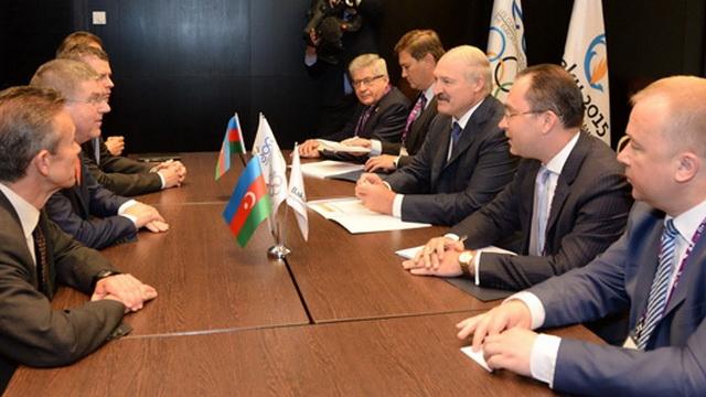 Лукашенко встретился с председателем МОК