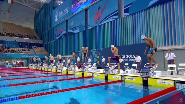 Пловец Никита Цмыг завоевал серебро на Европейских играх