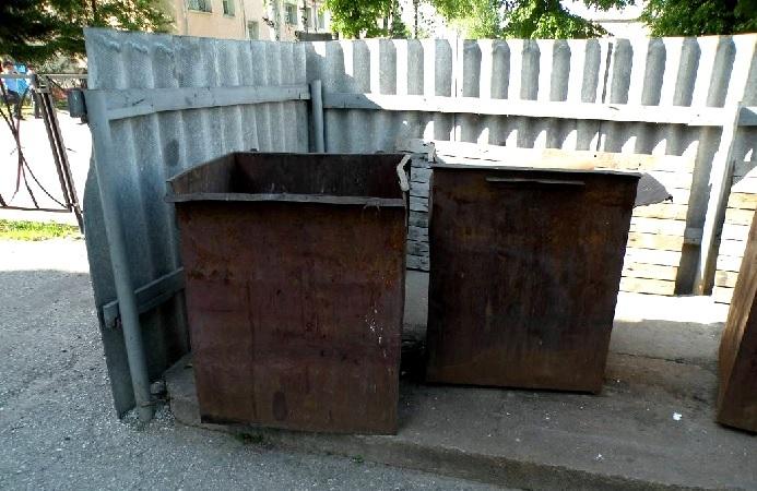 В Полоцке в мусорном баке нашли труп новорожденного ребенка