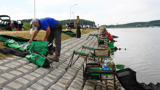 В Беларуси стартовал Чемпионат Европы по ловле рыбы летней поплавочной удочкой