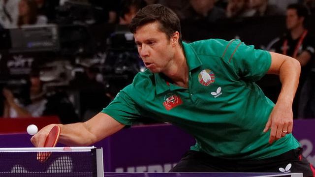 Владимир Самсонов прошёл в полуфинал турнира по настольному теннису на Евроиграх 2015