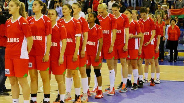 Белорусские баскетболистки