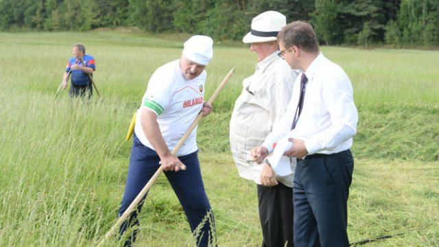 Лукашенко с Депардье