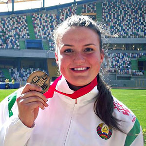 Белорусская толкательница ядра завоевала золото на чемпионате Европы-2015