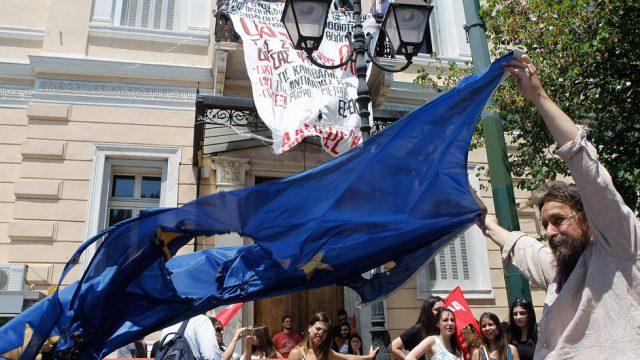 протест в Греции