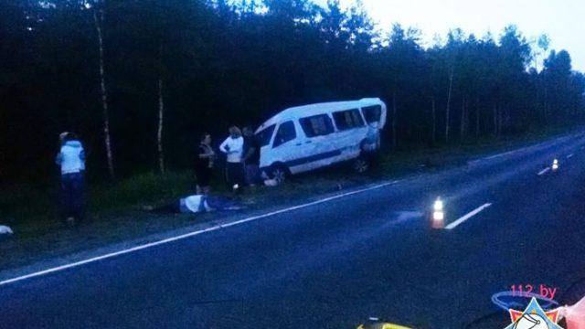 Страшная авария в Могилевской области - один человек погиб, трое получили ранения