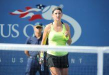 Азаренко на турнире